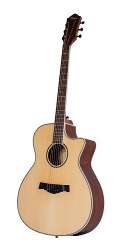 guitarra electroacústica parquer taylor eq corte funda cuota