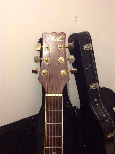 guitarra electroacustica phil