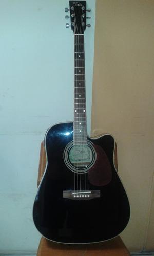 guitarra electroacústica regal planta fender y estuche
