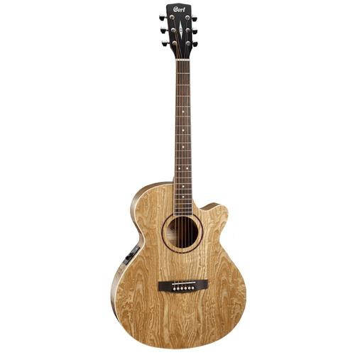 guitarra electroacustica sfx-ab natural c/estuche cort