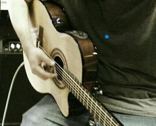 guitarra electroacústica slim body sdkc39tnepknl