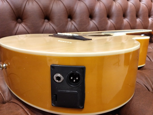 guitarra electroacustica texas ag10 lc5 nat incluye funda