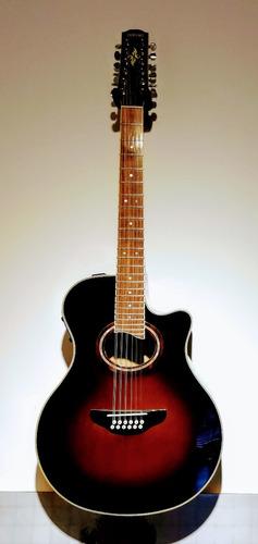 guitarra electroacustica yamaha apx 8 12 cuerdas