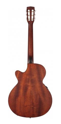 guitarra electroclásica nylon profesional cort cec1+estuche
