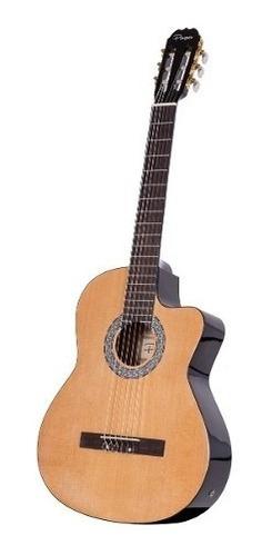 guitarra electrocriolla parquer master eq con corte cuota