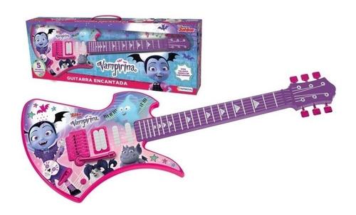 guitarra encantada vampirina con sonido reales y melodías