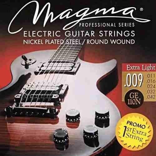 guitarra encordado cuerdas para
