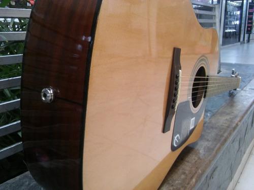 guitarra epiphone aj-100ce electro-acustica c/eq (no pasiva)