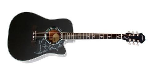 guitarra epiphone electro acústica dave navarro  jane