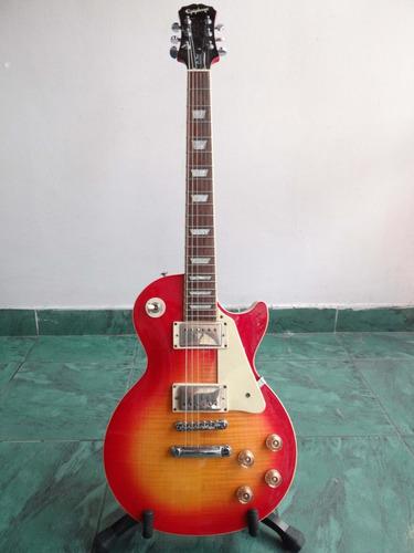 guitarra epiphone les paul plain top