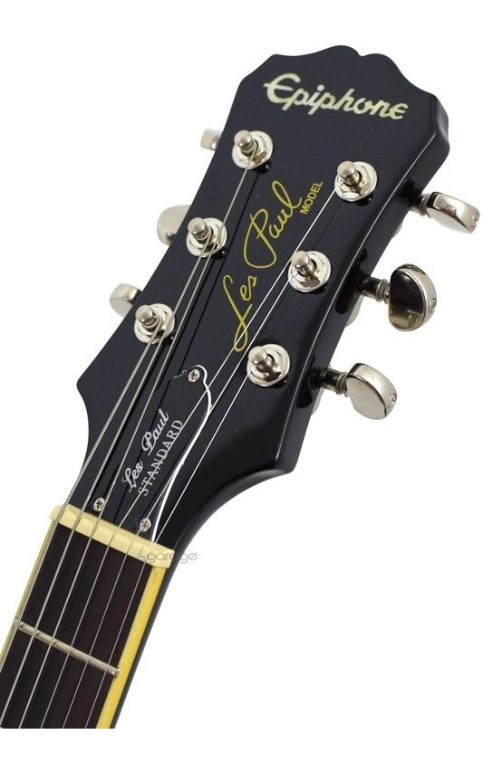 Guitarra EpiPhone Les Paul Standard Black Regulada! - R