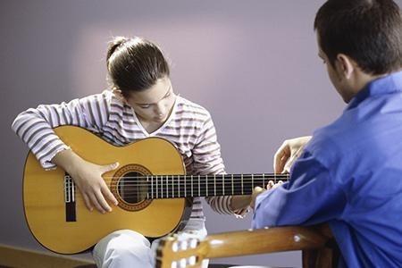 guitarra erasmo falcon clasica  de estudio