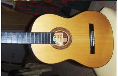 guitarra erasmo falcon clasica  de estudio d-carlo