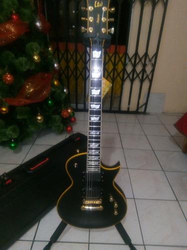 guitarra esp ltd deluxe ec-1000 vb emg