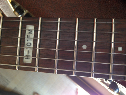 guitarra esp ltd h-101fm otimo custo beneficio - troco