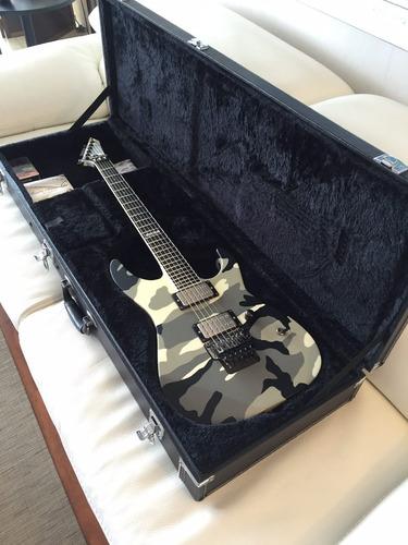guitarra esp mii uc + case + bare knuckles (fotos reales)
