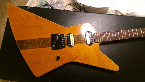 guitarra explorer custom luthier bpg made in usa