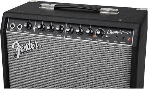 guitarra fender amplificador
