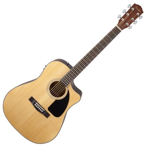 guitarra fender cd-60ce, electroacustica activa, estrena