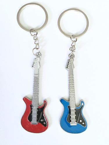 guitarra fender llavero varios colores remate