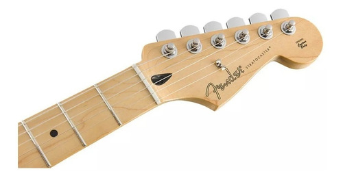 guitarra fender player series stratocaster black mex