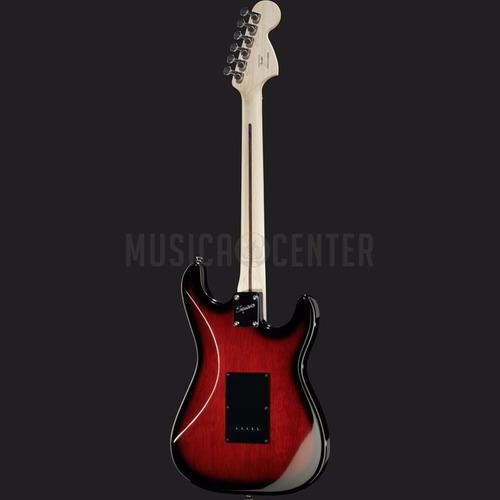 guitarra fender squier canhota std stratocaster lh burst