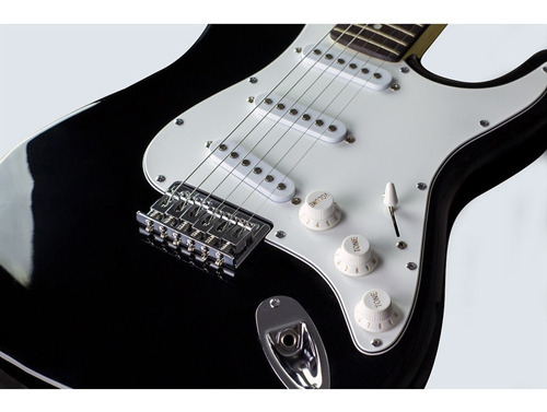 guitarra fender squier mainstream strato mm ht- 506 - black