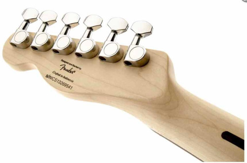 guitarra fender squier standard telecaster antique burst