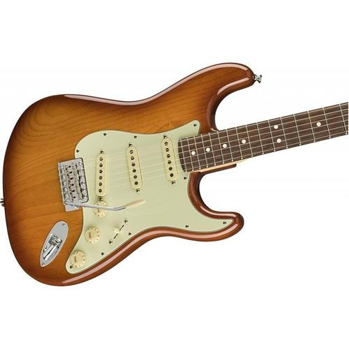 guitarra fender stratocaster american performer honey burst