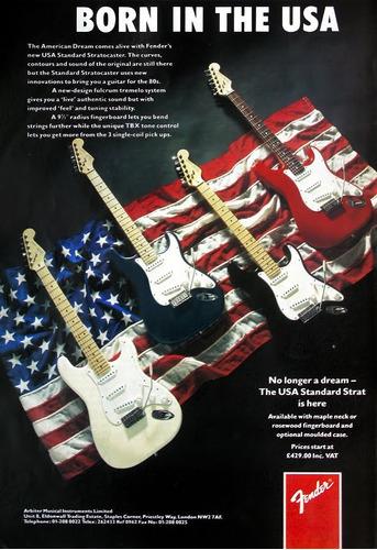 guitarra fender stratocaster c/estuche american special!