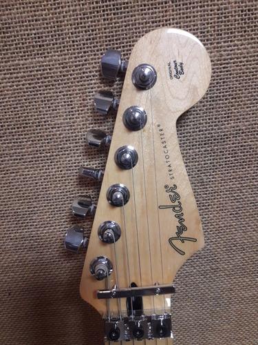 guitarra fender stratocaster floy rose maple