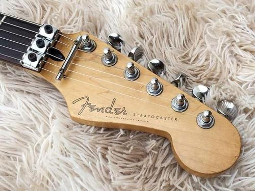 guitarra fender stratocaster made in japan ocean turquoise