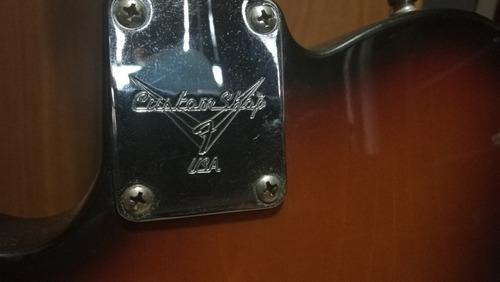 guitarra fender telecaster custom bigsby 1999 con estuche