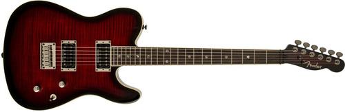 guitarra fender telecaster special edition custom fmt hh