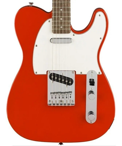guitarra fender telecaster squier affinity racing red lr 570