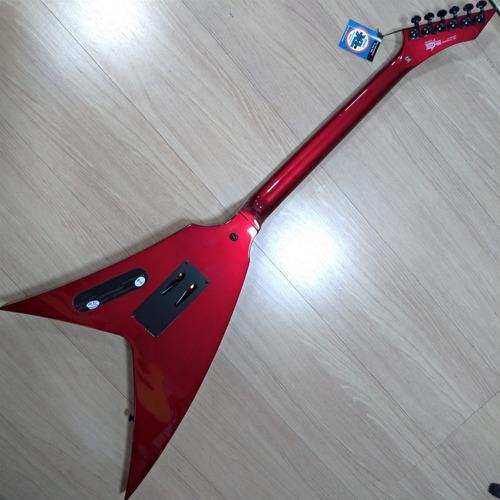 guitarra flying v washburn wv24mr vindicator caps randall