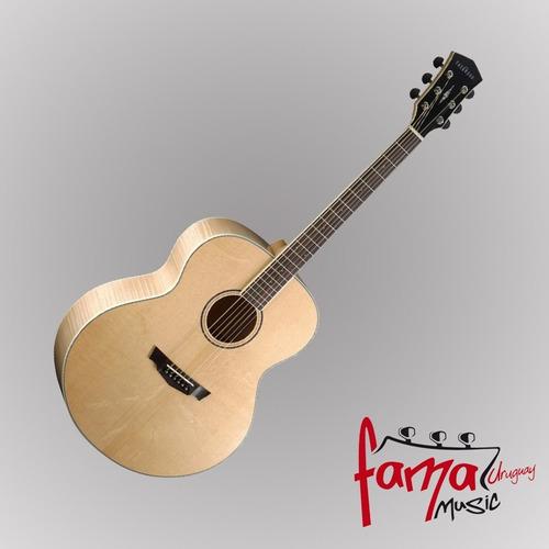 guitarra folk parkwood pw-340fm ns