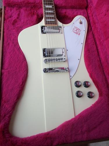 guitarra gibson firebird classic white , made in u s a