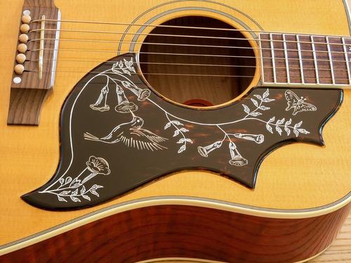 guitarra gibson hummingbird orpheum electroacústica 2002