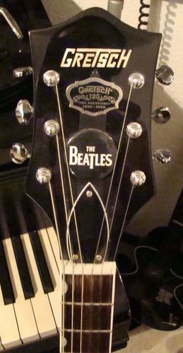 guitarra gretsch electromatic black the beatles