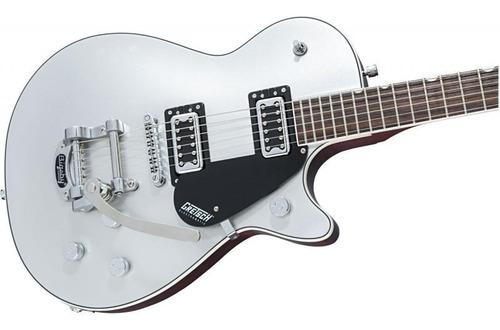 guitarra gretsch g5230t ft jet con bigsby airline silver