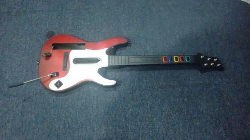 guitarra guitar hero para nintendo wii,funcionando bien