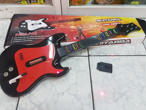 guitarra guitar hero ps2 inalambrica