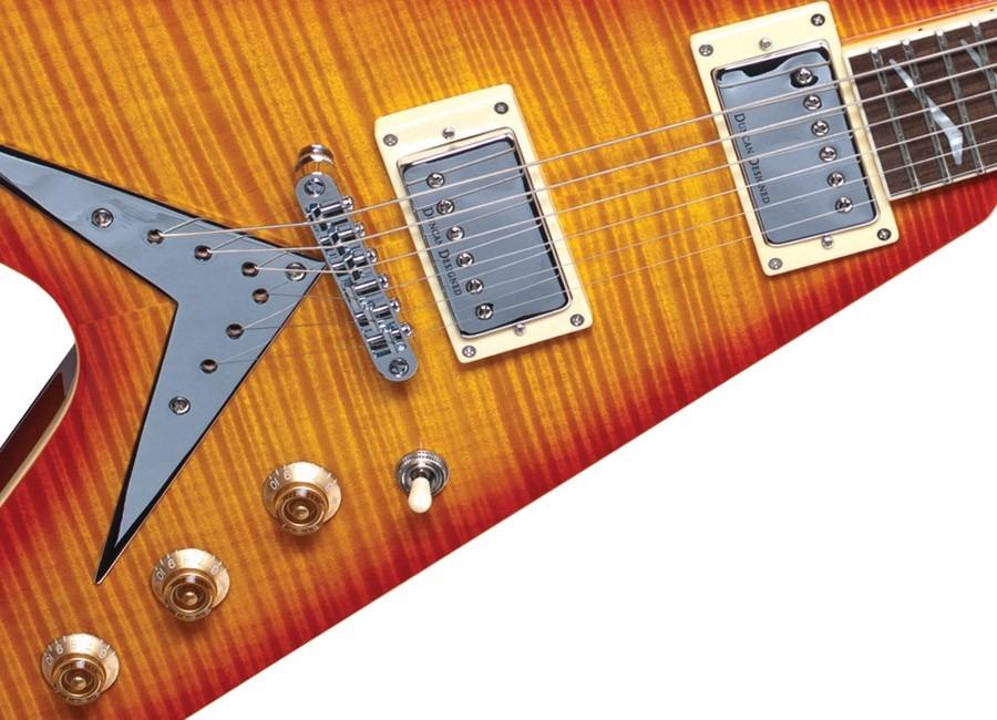 Guitarra Hamer Flying V Unica!! Duncan Designed