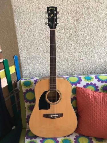 guitarra ibáñez acústica para zurdos