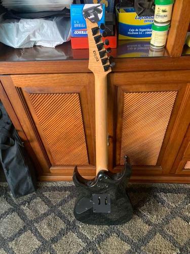 guitarra ibanez gio negra + mini-amplificador marshall