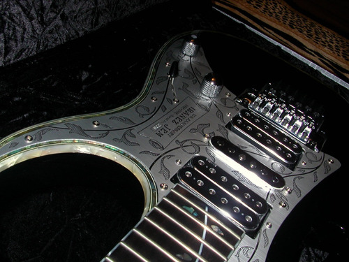 guitarra ibanez jem 10th anniversary