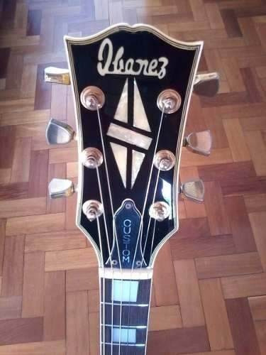 guitarra ibanez les paul custom 1975, pré lawsuit