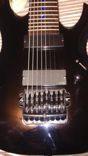 guitarra ibanez rga 8 con emg 808b