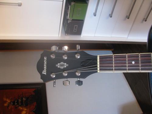 guitarra ibanez semi acústica